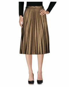 KAOS JEANS SKIRTS 3/4 length skirts Women on YOOX.COM