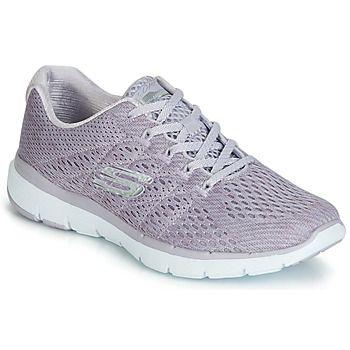 Skechers  FLEX APPEAL 3.0 SATELLITES  women's Shoes (Trainers) in Grey