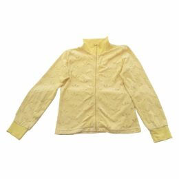 Yellow Synthetic Knitwear