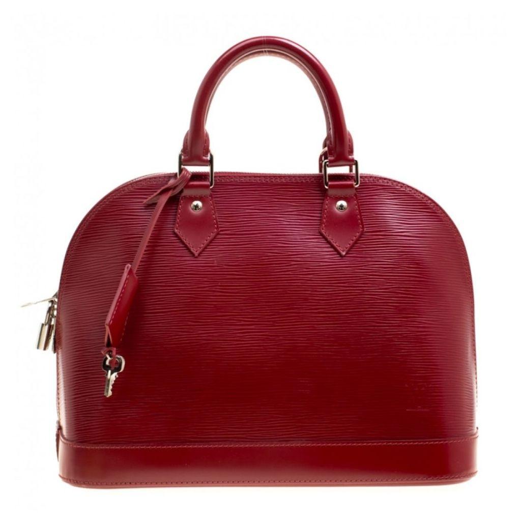Alma BB leather handbag