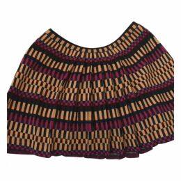 Wool skirt