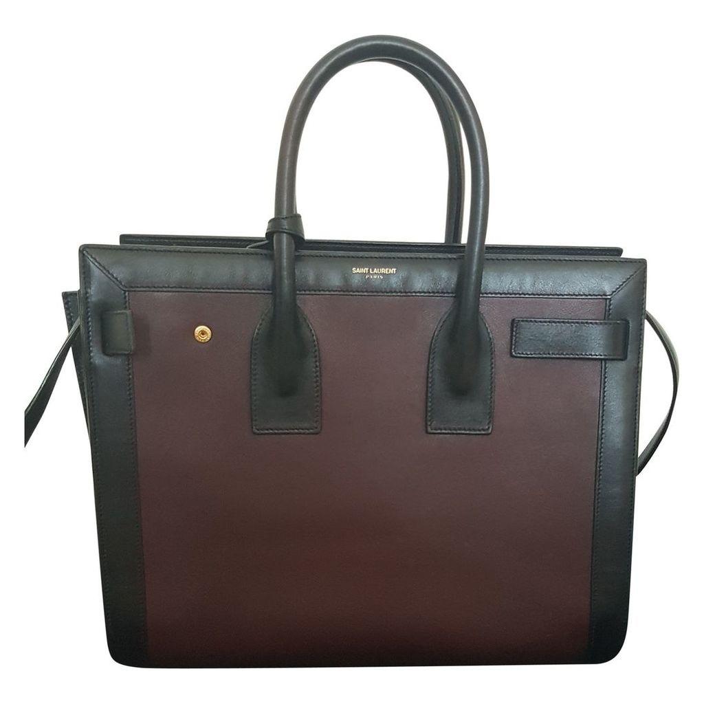 Sac de Jour leather handbag