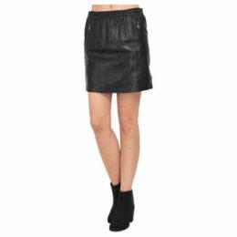Oakwood  Leather skirt  women's Skirt in Black
