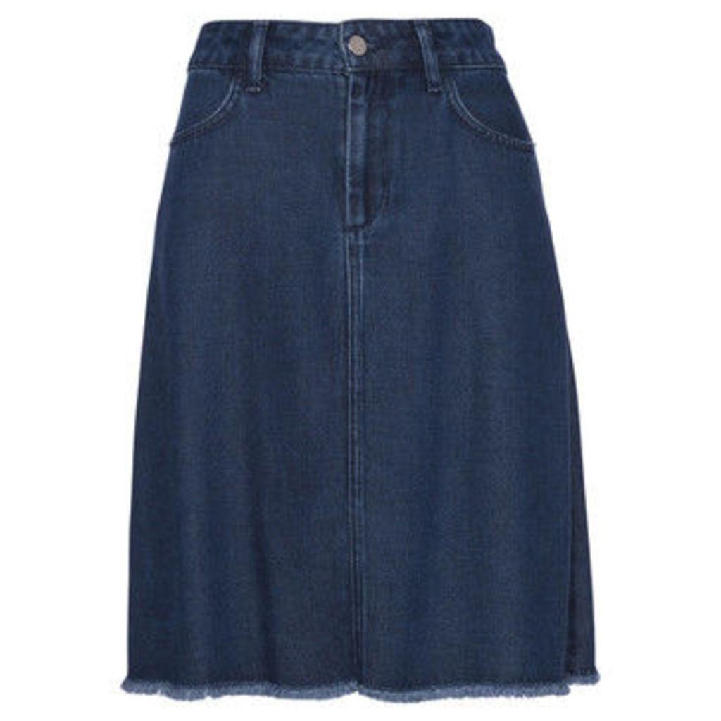 French Connection  Denim skirt  women's Skirt in Blue