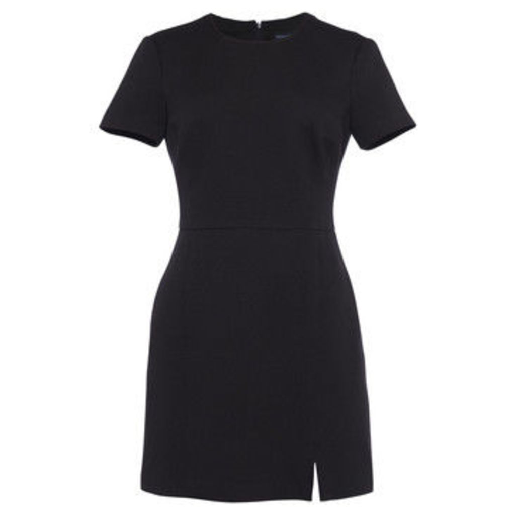 French Connection  Short-sleeved dress with short sleeves  women's Dress in Black