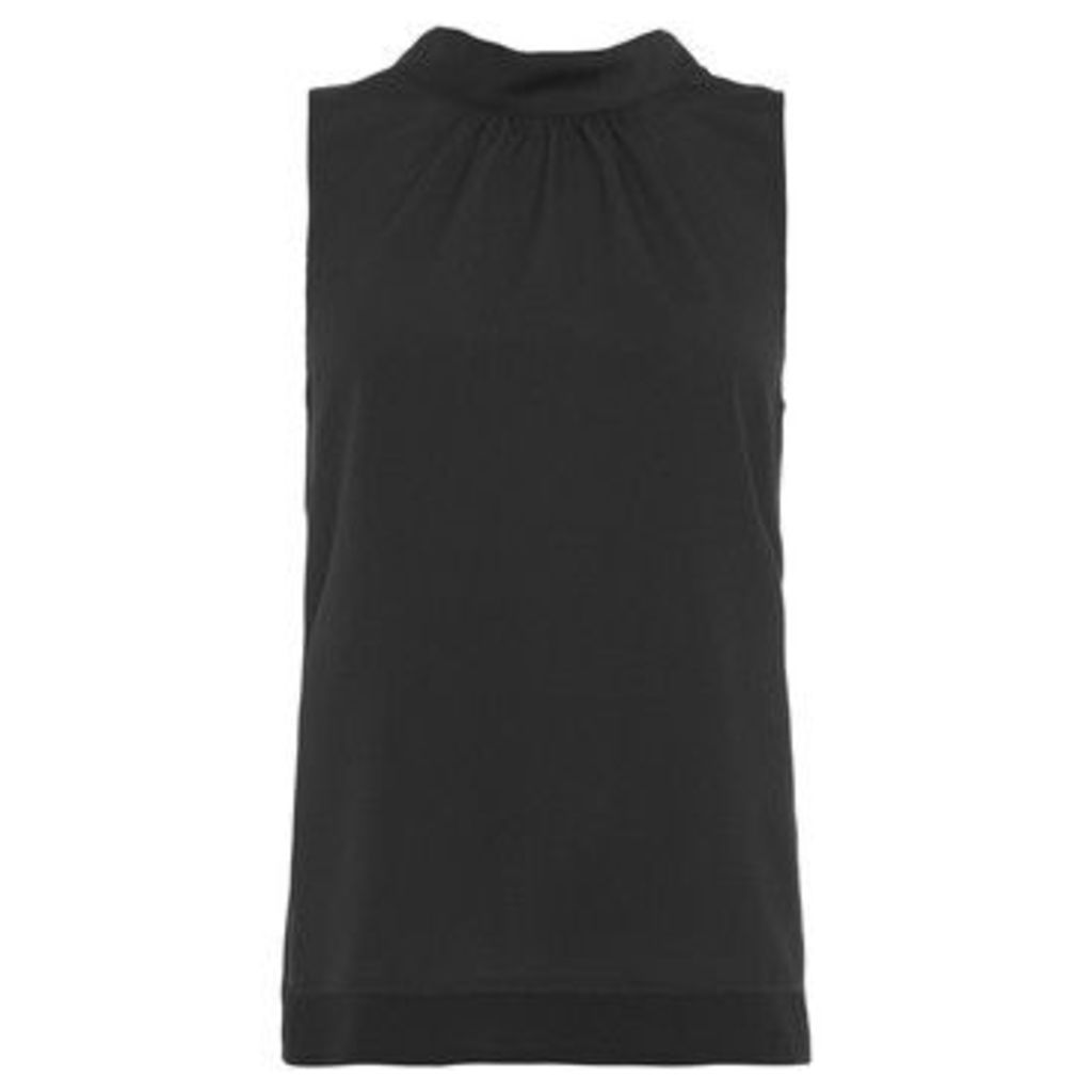 French Connection  Sleeveless straight dress  women's Dress in Black