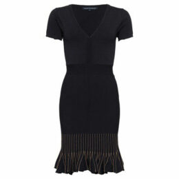 French Connection  Bodycon knit dress  women's Dress in Black