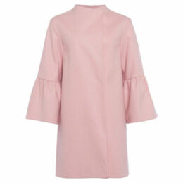 French Connection  Cashmere coat with long sleeves  women's Coat in Pink