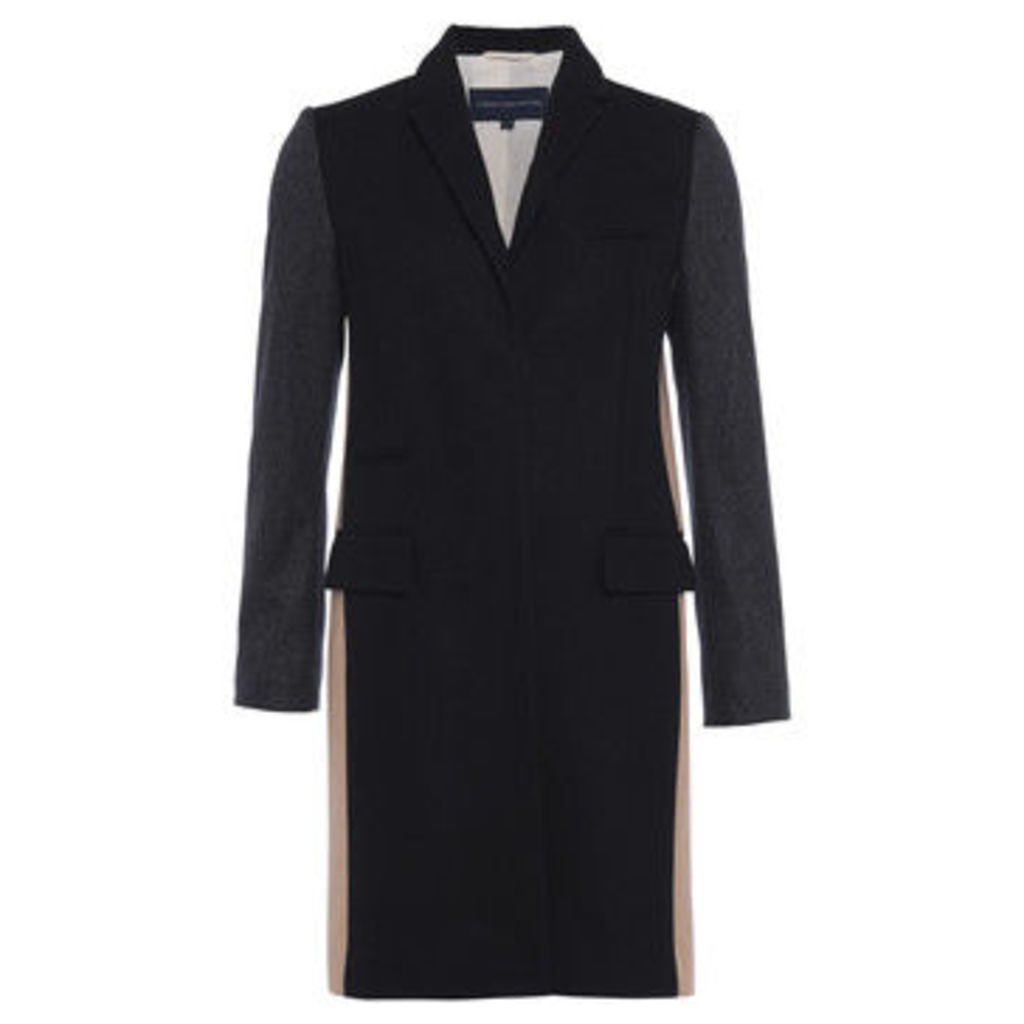 French Connection  Cashmere shack  women's Coat in Black