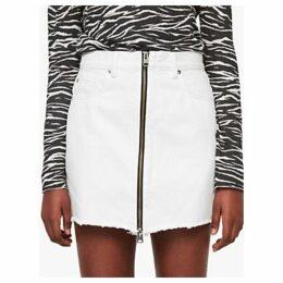 AllSaints Lomo Skirt, White