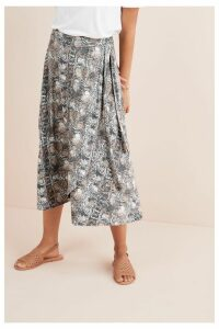 Womens Next Snake Wrap Skirt -  Animal