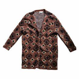 Linen cardi coat