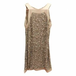 Glitter mid-length dress