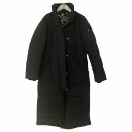 Anthracite Polyester Coat