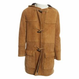 Beige Suede Coat
