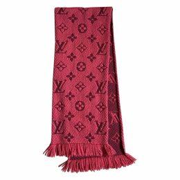 Logomania wool scarf
