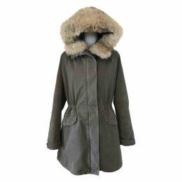 Green Fur Coat