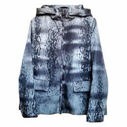 Grey Synthetic Coat