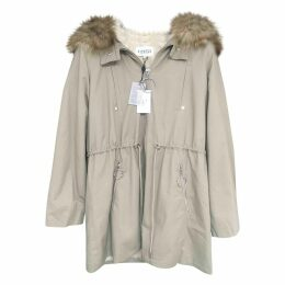 Beige Cotton Coat