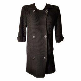 Silk cardi coat