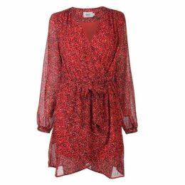 Only Star Wrap Dress