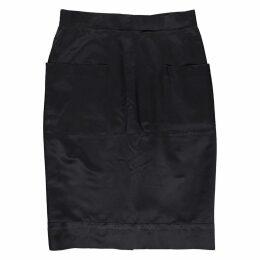 Silk skirt suit