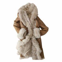 Mongolian lamb coat