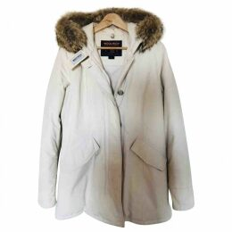 White Cotton Coat