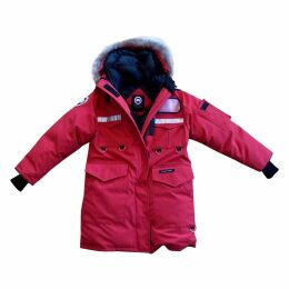 Red Synthetic Coat