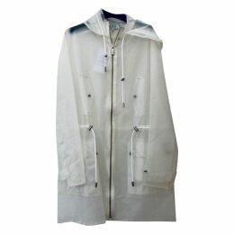 White Synthetic Coat