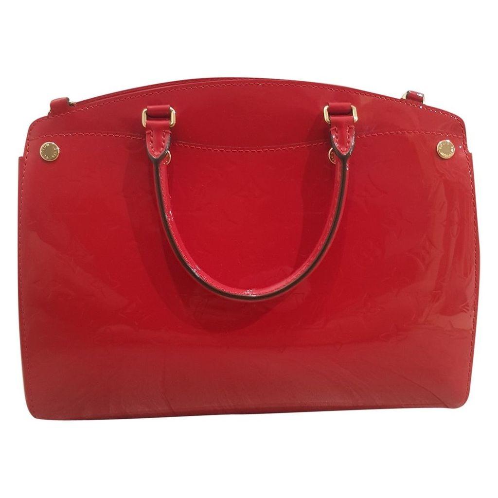 Bréa patent leather handbag