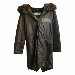 Khaki Fur Coat