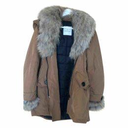 Brown Cotton Coat