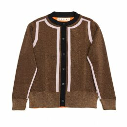 Brown Synthetic Knitwear