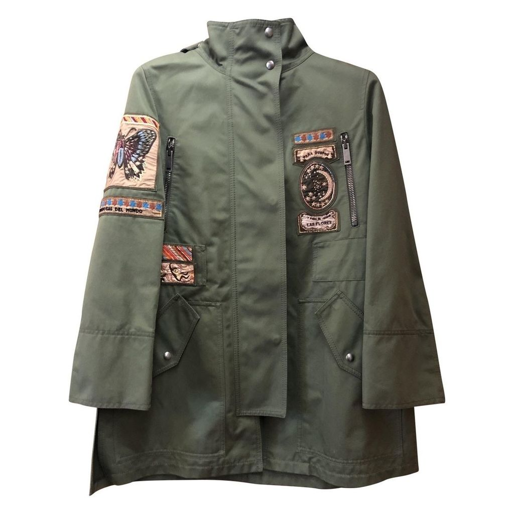 Green Cotton Coat