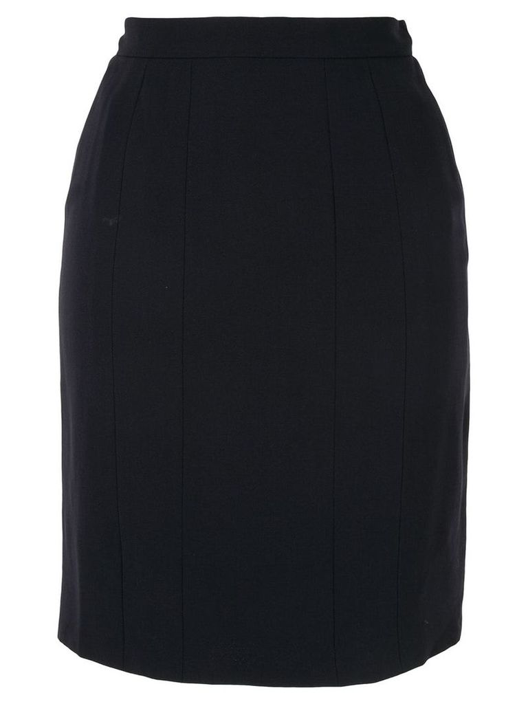 Chanel Pre-Owned pencil skirt - Blue
