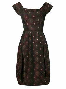 A.N.G.E.L.O. Vintage Cult 1950's patterned dress - Red