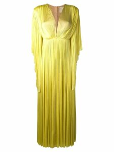 A.N.G.E.L.O. Vintage Cult 1980's empire dress - Yellow