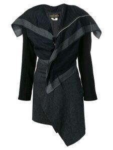 COMME DES GARÇONS PRE-OWNED 2000's stripe coat - Blue
