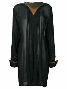 Versace Pre-Owned 1980's long sleeve top - Black