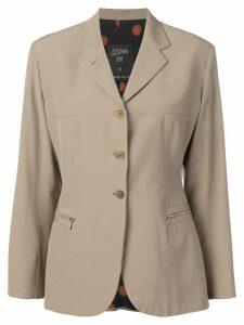 Jean Paul Gaultier Pre-Owned 1990's classic blazer - Neutrals