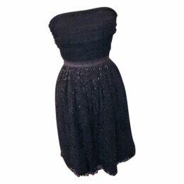 Glitter mid-length dress