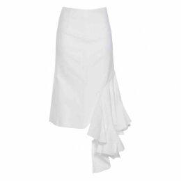 La reconstruction mid-length skirt