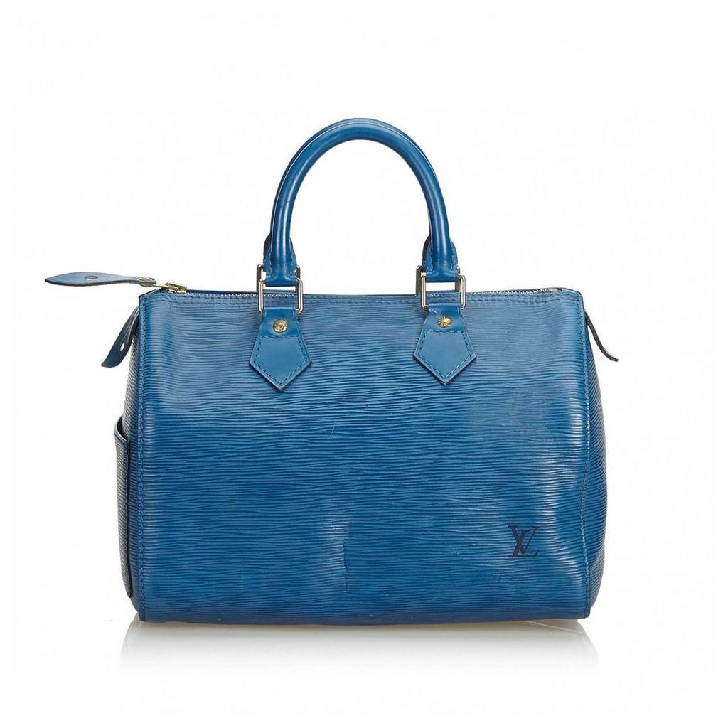 Speedy leather handbag