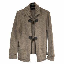 Brown Cotton Knitwear
