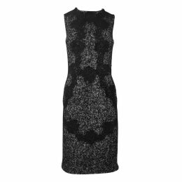 Tweed mid-length dress