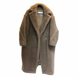 Teddy Bear Icon wool coat
