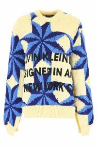 Calvin Klein Embroidered Pull
