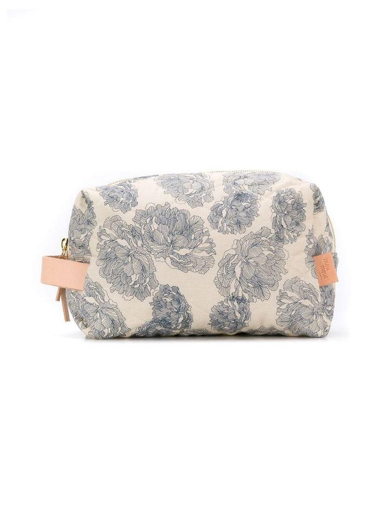 Moumout Janjan zipped bag - Neutrals