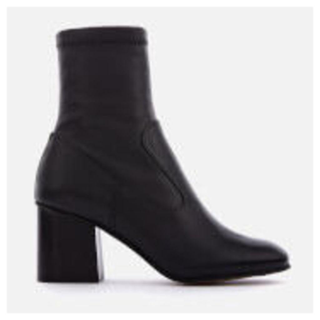 Whistles Women's Vittoria Heeled Sock Boots - Black